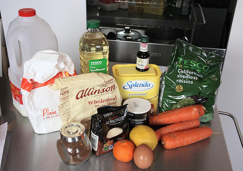 carrot cupcake ingredients