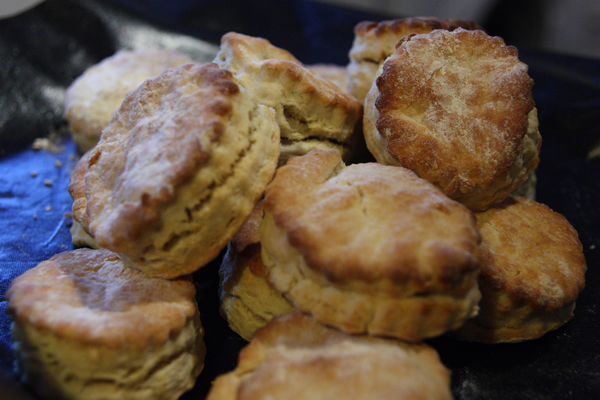 home made baking powder biscuits