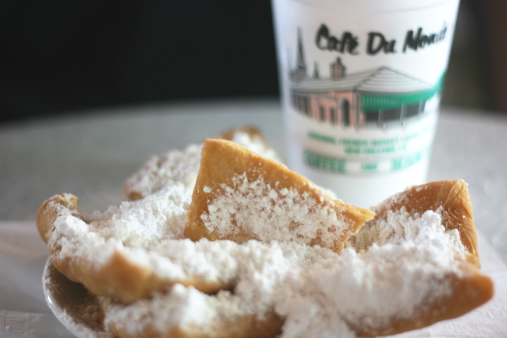 Go Back > Gallery For > Beignets And Coffee