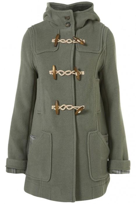 topshop duffle coat cost per wear