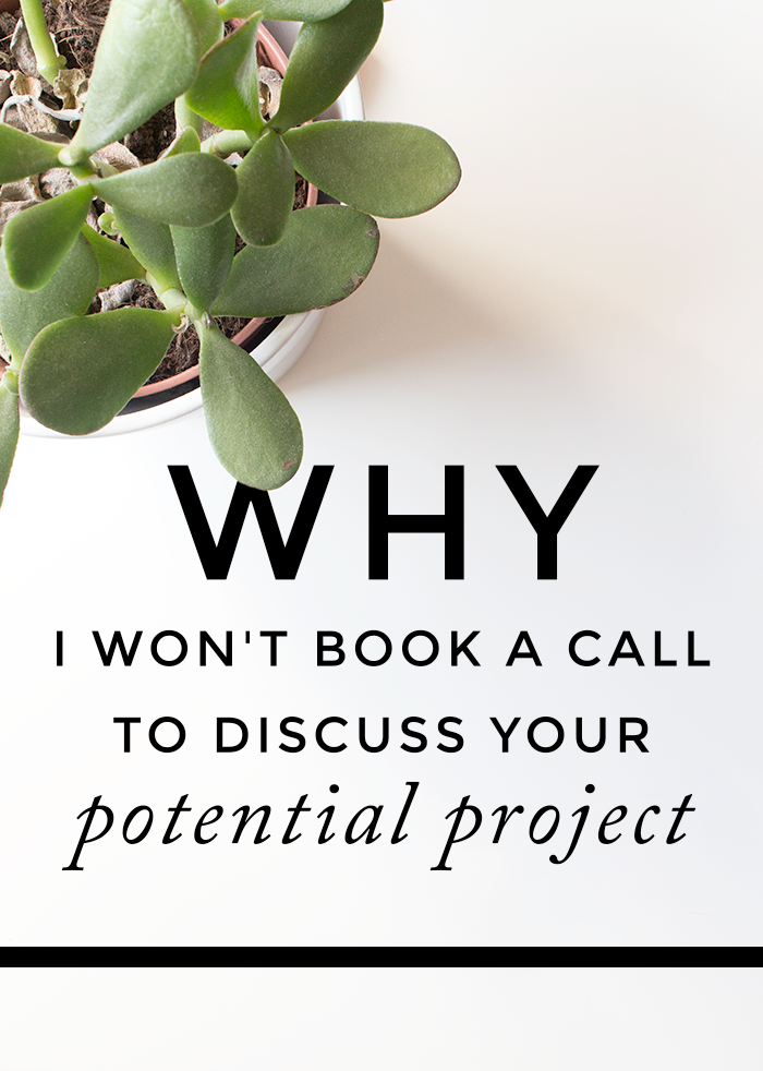 why-i-wont-book-a-call-to-discuss